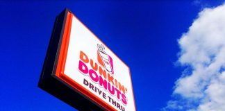 Dunkin Donuts in Palm Springs