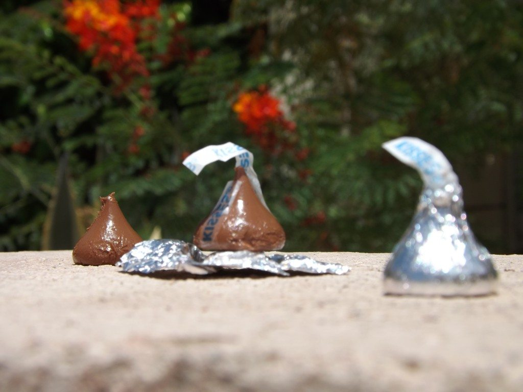 Will a Hershey's Kiss Melt in the Sun