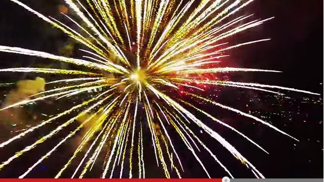 Amazing YouTube Video of Fireworks with a dronw