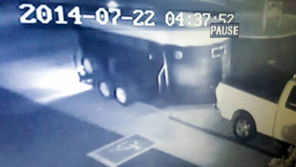 Couple steals gas trailer
