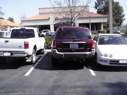 Bad-parking job