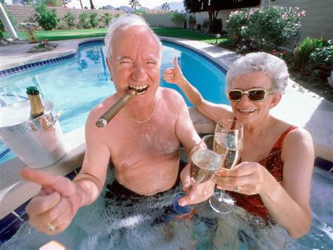 jacuzzi old peops