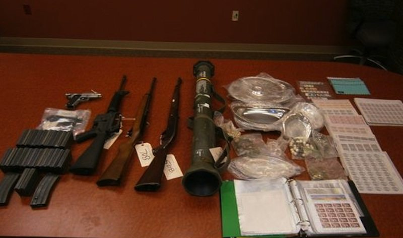 Rocket Launcher Found in Desert Hot Springs Drug Bust | Cactus Hugs