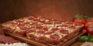Little Caesars Bacon Wrapped Pizza