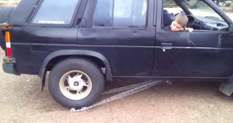 truck reverse invention