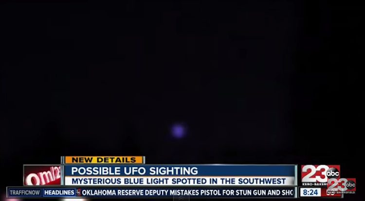 Bakersfield Residents Claim to Have Seen UFO | Cactus Hugs