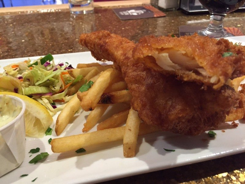 Best Fish and Chips in Palm Springs are found at Whole Foods Palm Desert