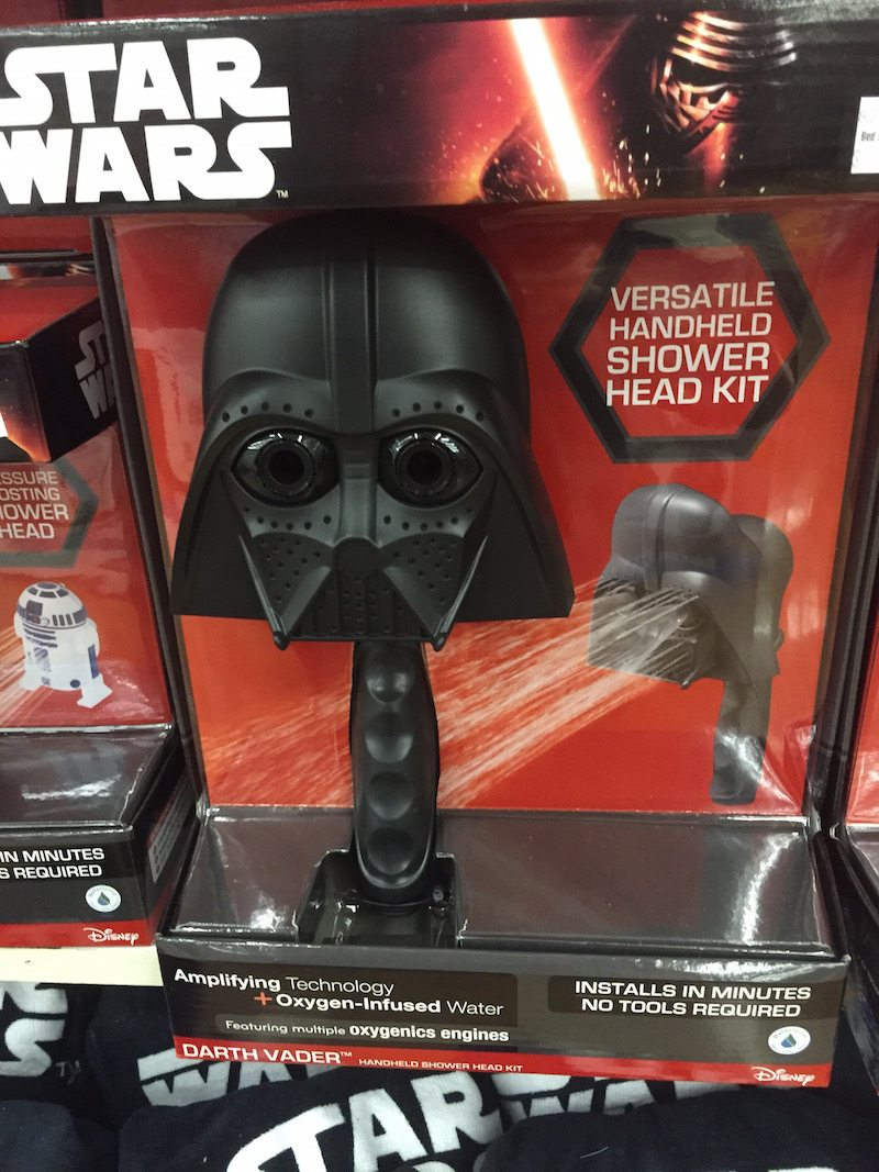 Bed bath and beyond beaumont - Darth Vader Shower Head Kit Bed Bath And Beyond