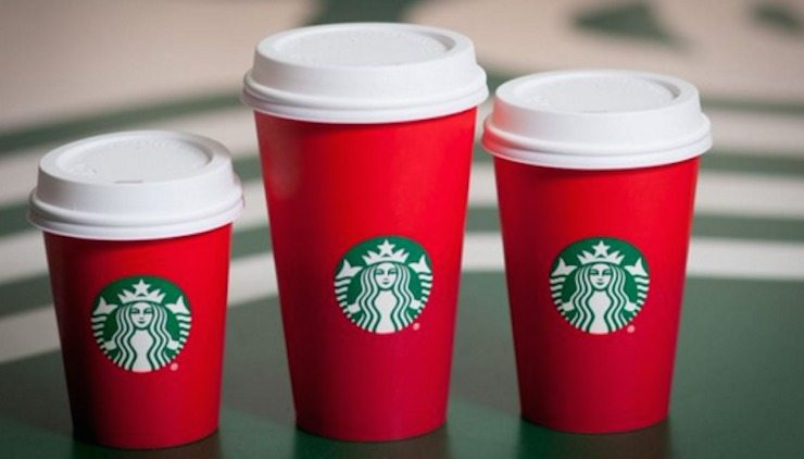 Red Cups Starbucks