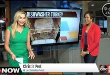 How to cook your Thanksgiving turkey in the dishwasher news segment