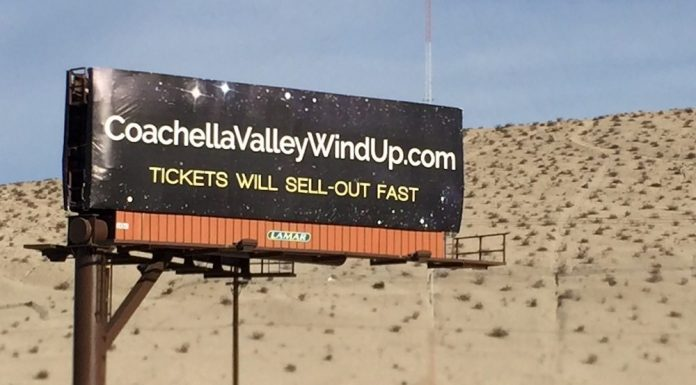 Coachella Valley Wind-Up Tickets Sell Out Fast