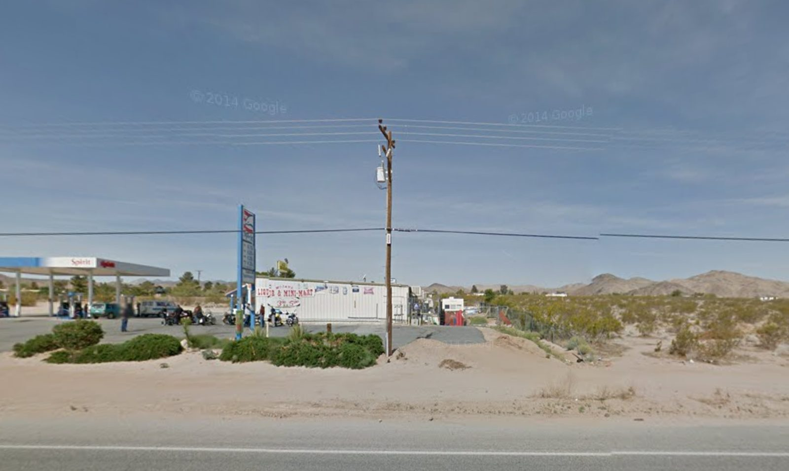 (Mojave Market as seen on Google Maps)