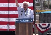 Bernie Sanders Cathedral City