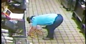 Video: Dunkin' employee drops donuts on the floor, puts them up for sale