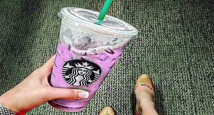 Everyone is going nuts for the secret purple drink at Starbucks