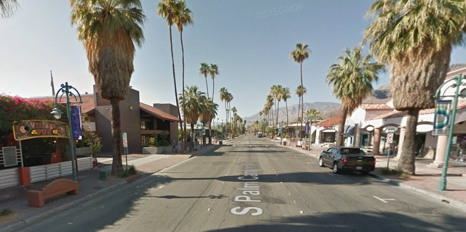 Drive-by shooting in downtown Palm Springs being ...