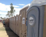 Desert Trip is doing everything it can to ensure a nice pooping experience