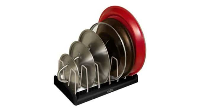 Pan Lid Holder - the best way to store your pan lids at a discount
