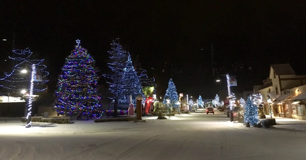 the local mountains might see a white christmas - Big Bear Christmas