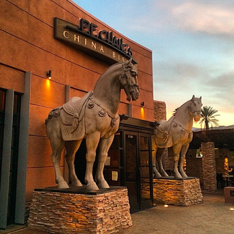 The entry to P.F. Chang's at the River in Rancho Mirage