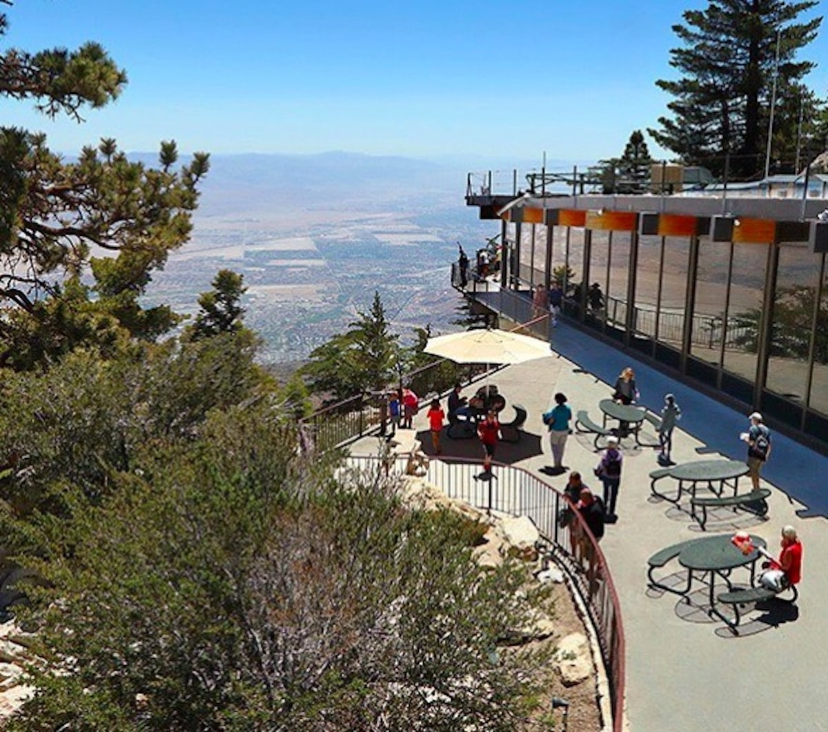 Palm Springs Tramway to spend $13 million to upgrade the Mountain Station