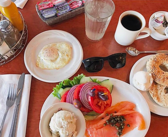Sherman's Deli in Palm Desert and Palm Springs - one of the best spots to get the best breakfast in Palm Springs