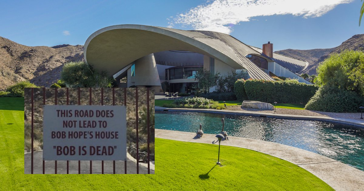 The Palm Springs Estate That Once Belonged To Bob Hope