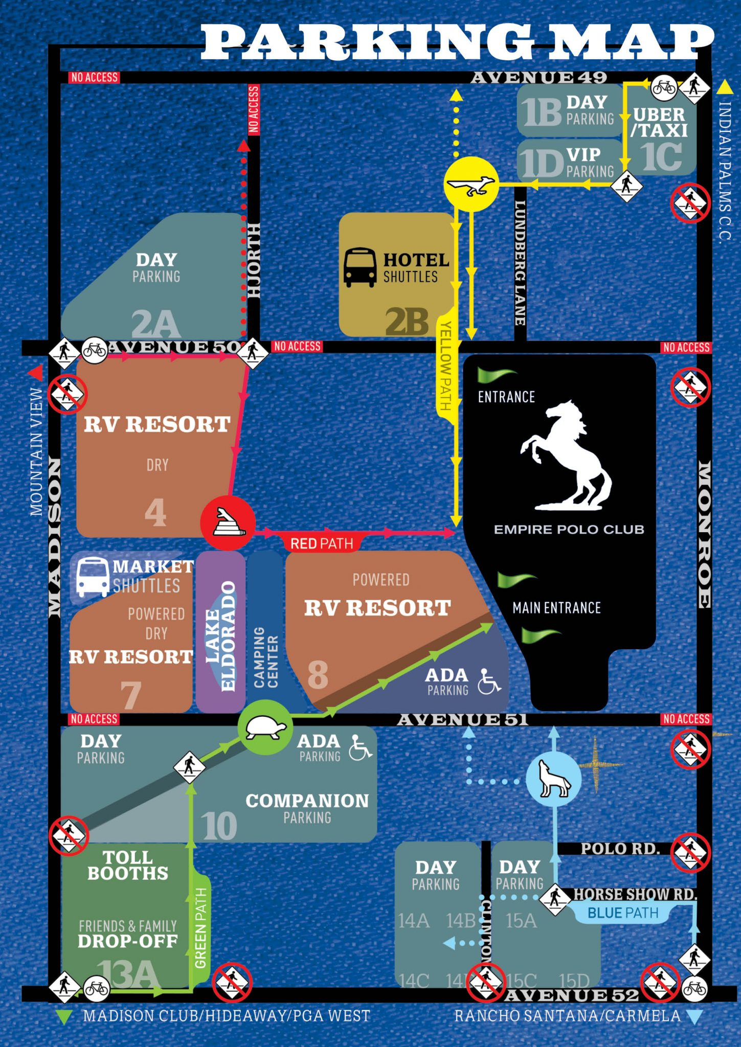 here are you stagecoach festival venue and parking maps