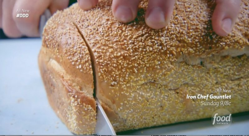 Fresh Rye Bread from Sherman's Deli in Palm Desert, California - as seen on Diners, Drive-Ins, and Dives on Food Network