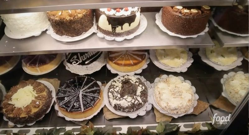 Cakes at Sherman's Deli in Palm Desert