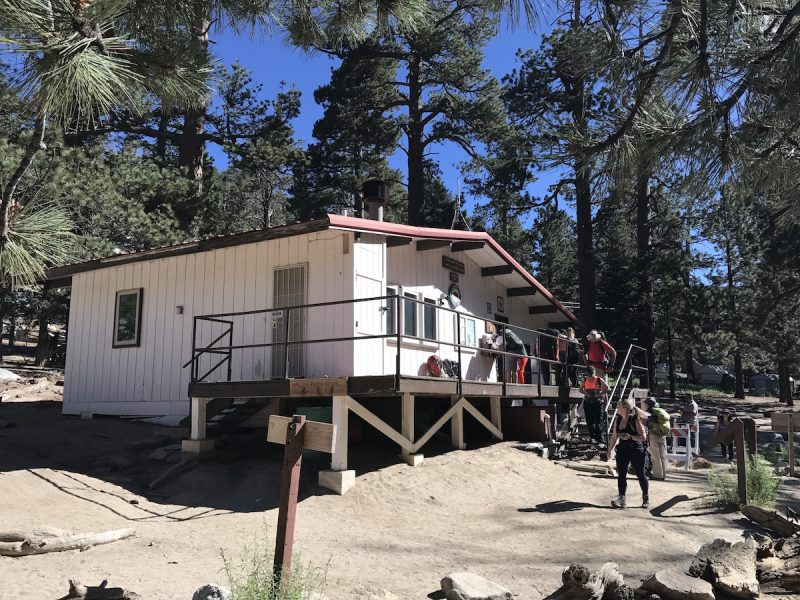The ranger station at the top of the Palm Springs Aerial Tramway
