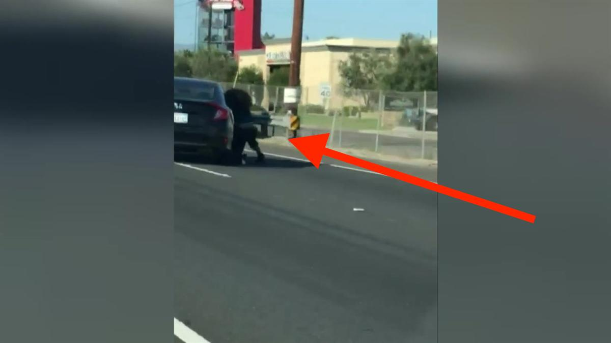 Watch Woman Dragged On The Freeway During Bizarre Road Rage Incident