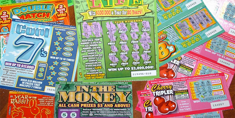 A guy is suing the California Lottery after they refused to