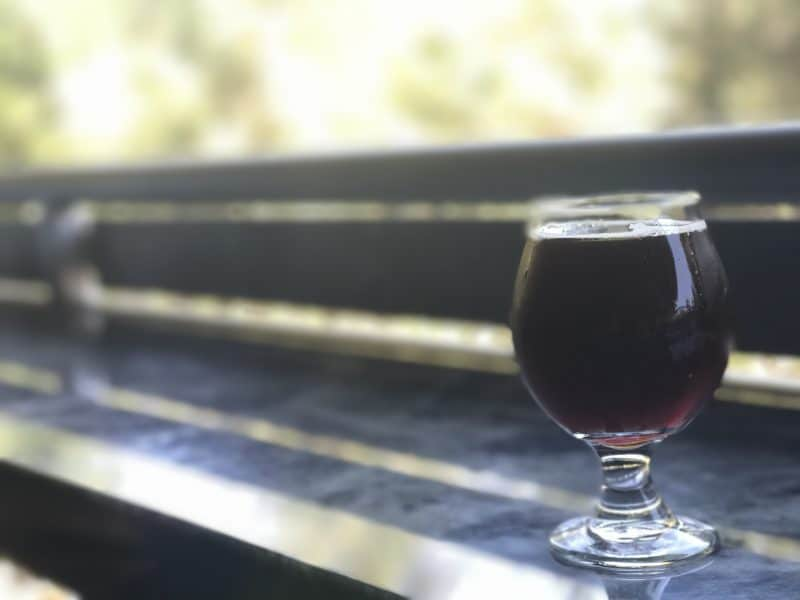 A baryleywine beer served at Idyllwild Brewpub