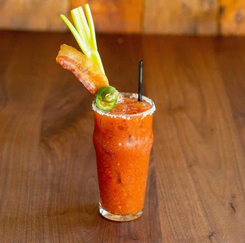 A Bloody Mary from Eureka! Restaurant