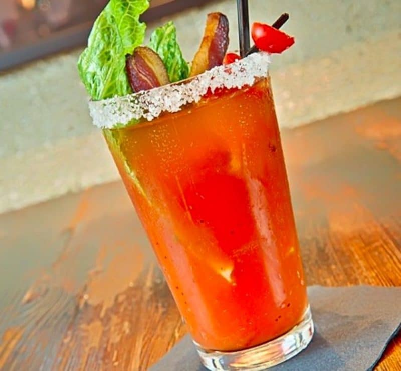 A Bloody Mary at The Grill on Main in La Quinta