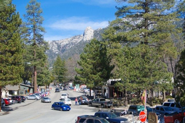 The community of Idyllwild, California