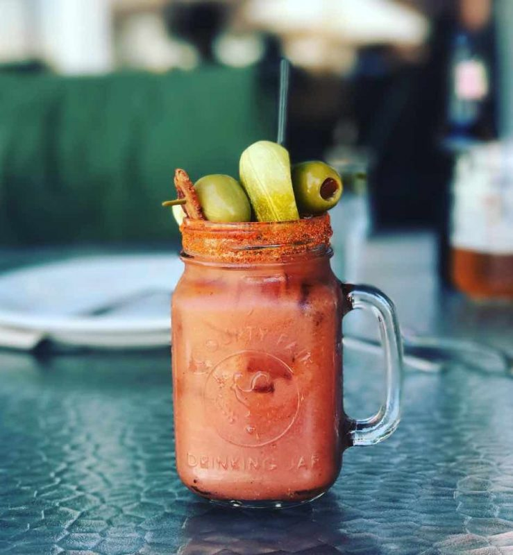 A Bloody Mary from Wilma and Frieda in Palm Desert