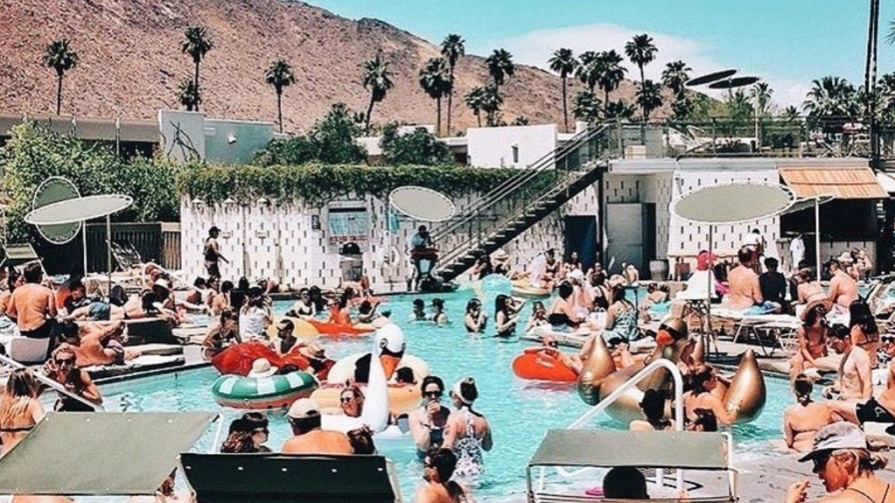 Ace Hotel Palm Springs Pool 2018 World S Best Hotels