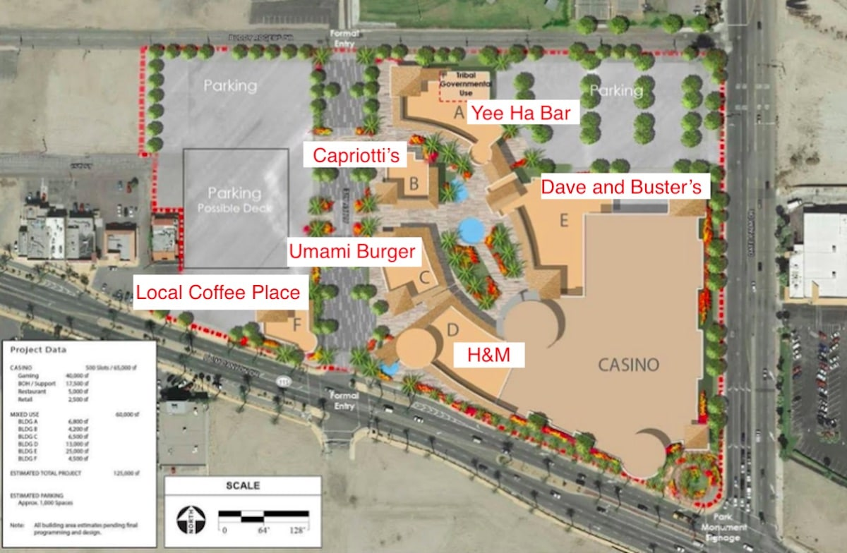 Plans For The New Downtown Cathedral City Entertainment
