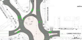 The Palm Springs roundabout that almost happened