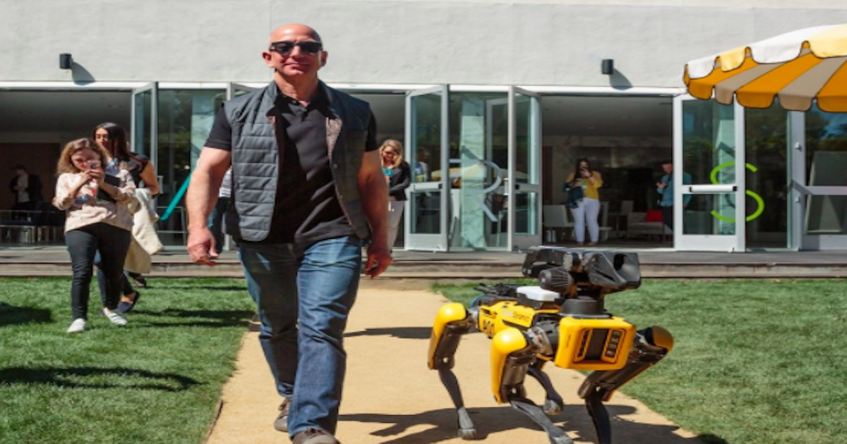 Jeff Bezos Brought Some Cool Robots To Palm Springs Cactus Hugs