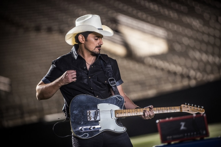 Brad Paisley is coming to Agua Caliente Casino this August in Palm Springs