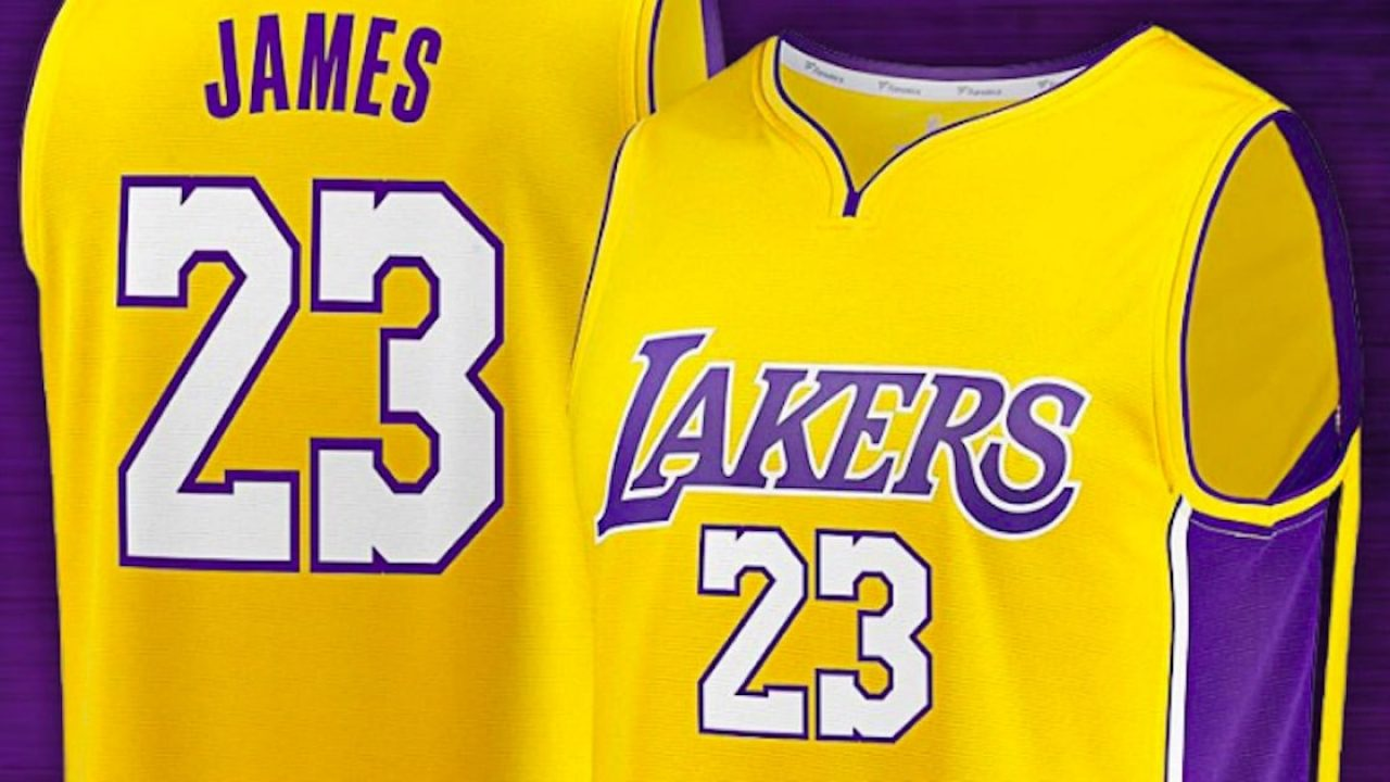 online retailer 111a2 d12da LeBron James Lakers jersey are selling like crazy | Cactus Hugs
