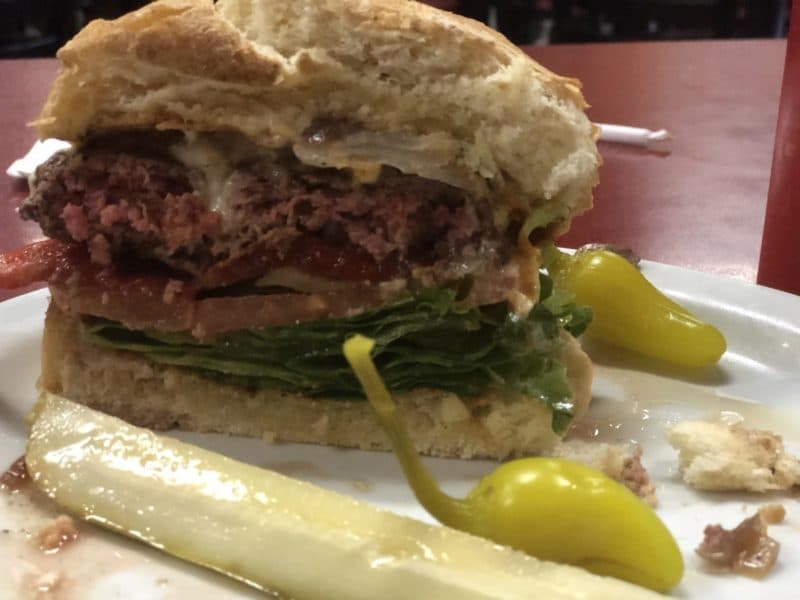 Tony's Burgers in Cathedral City is serving up some tasty hamburgers