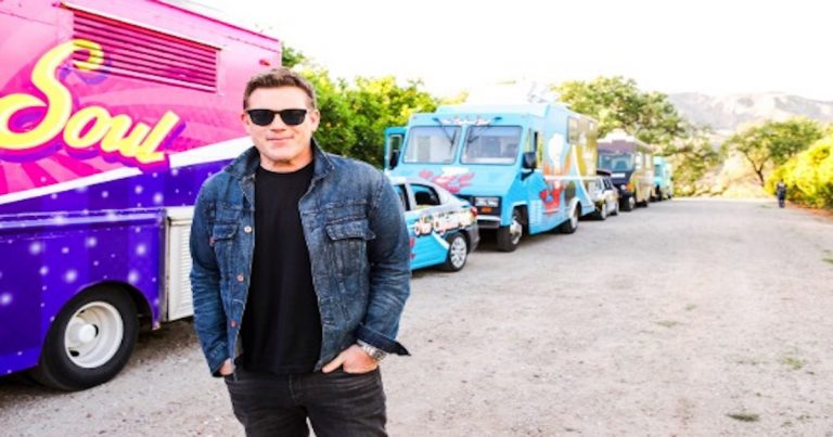 The 'Great Food Truck Race' is filming in Palm Springs Monday & Tuesday