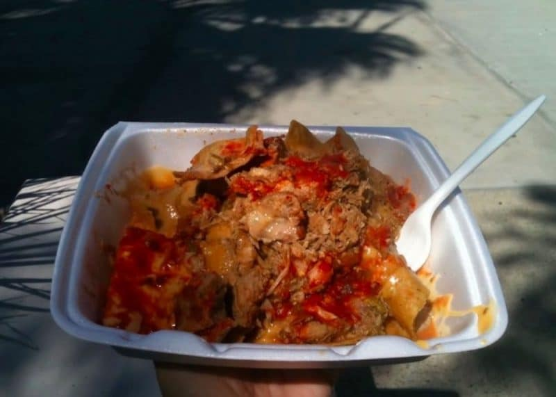 Nachos from Arriola's in Indio - a must have when visiting the Coachella Valley