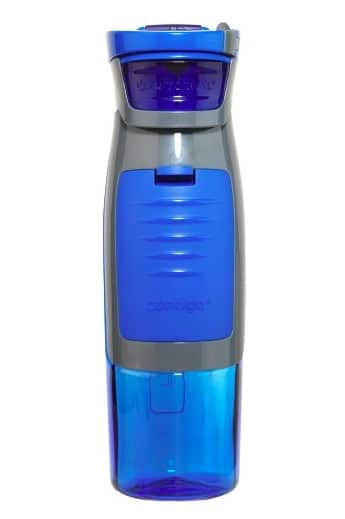 Water bottle with key compartment