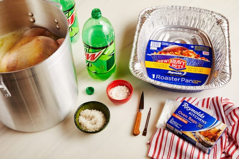 A Mountain Dew Soda Recipe for your Thanksgiving Turkey