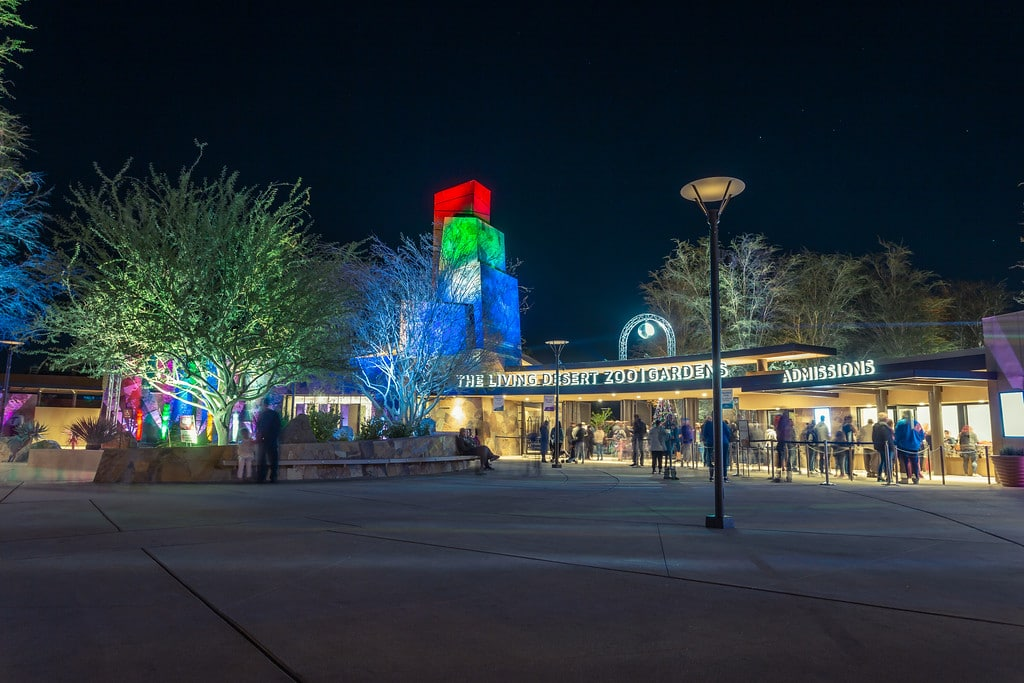 TLD HolidayEntrance - Wildlights The Living Desert Zoo And Gardens December 31